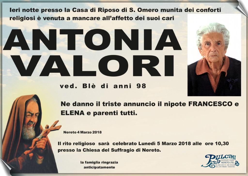 Antonia Valori