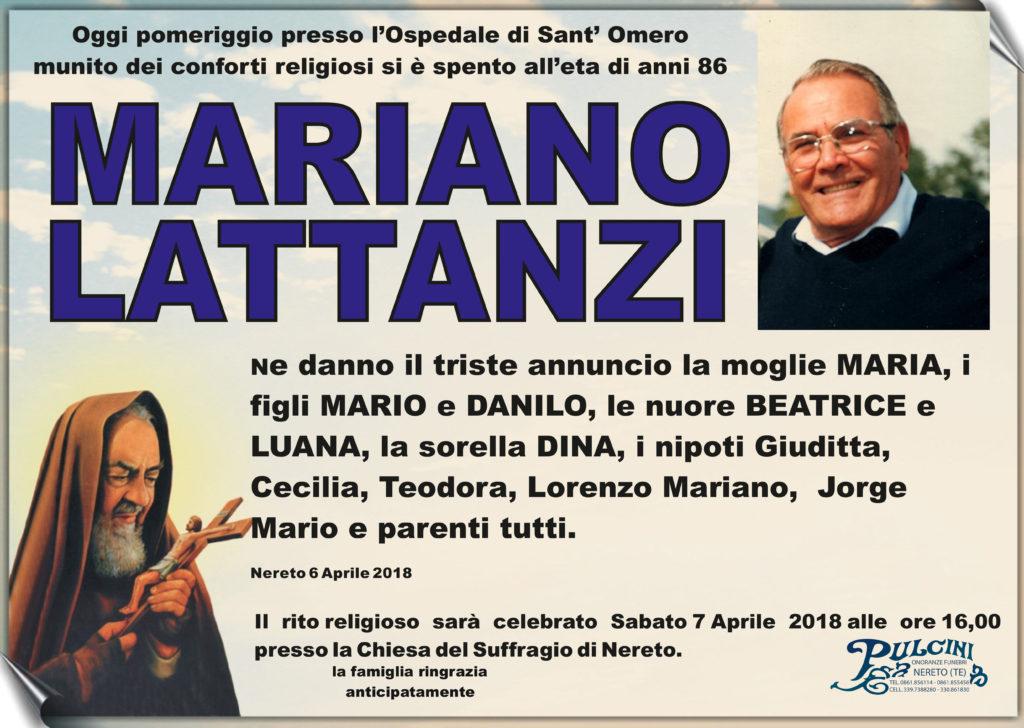 MARIANO LATTANZI